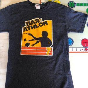 Other - Bar-athlon funny tee, men's small